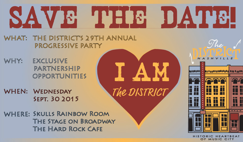 Save The Date Districtnash