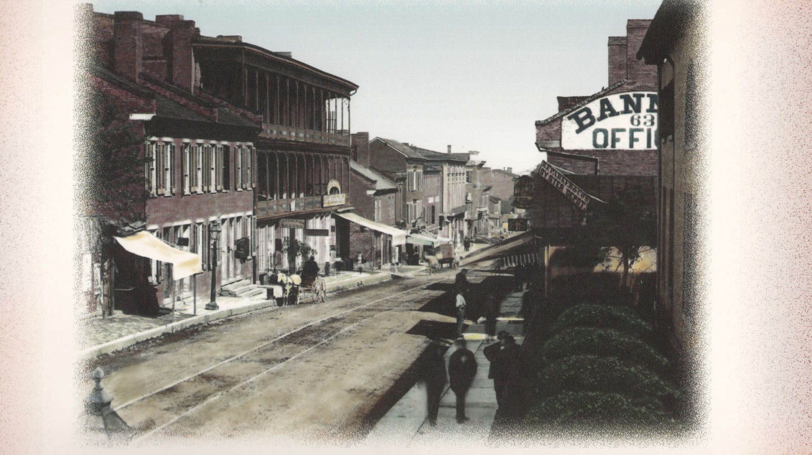 4th Ave in 1870s