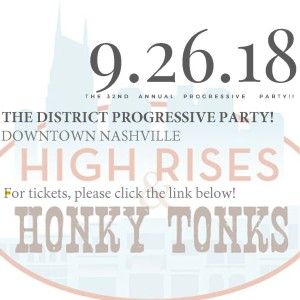Welcome to the 32nd Annual Progressive Party for The DISTRICT.